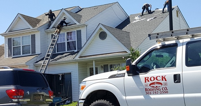 Roofing job in Delaware