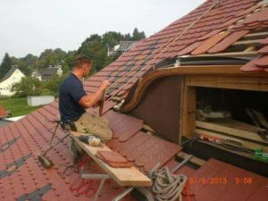 custom tile roof